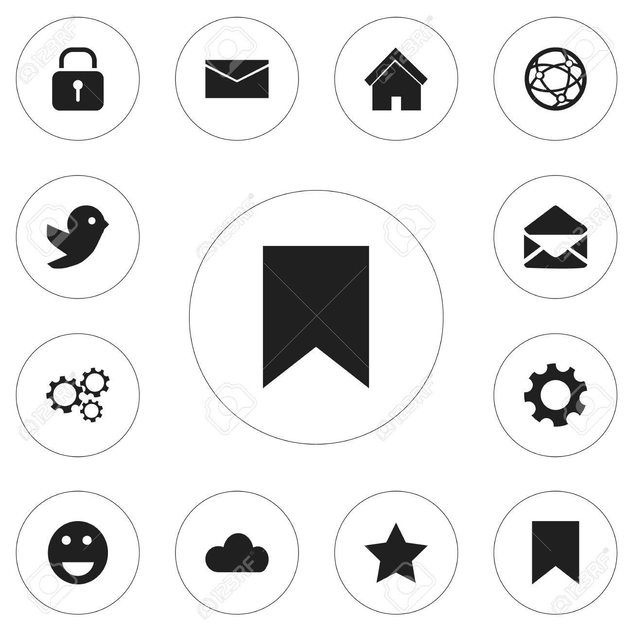 Set of 12 editable internet icons includes symbols such as emoji set of 12 editable internet icons includes symbols such as emoji bookmark security biocorpaavc