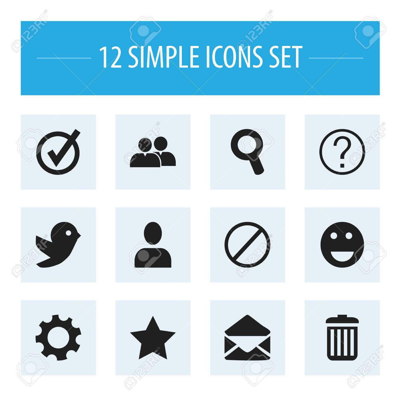 Set of 12 editable internet icons includes symbols such as letter set of 12 editable internet icons includes symbols such as letter recycle bin biocorpaavc