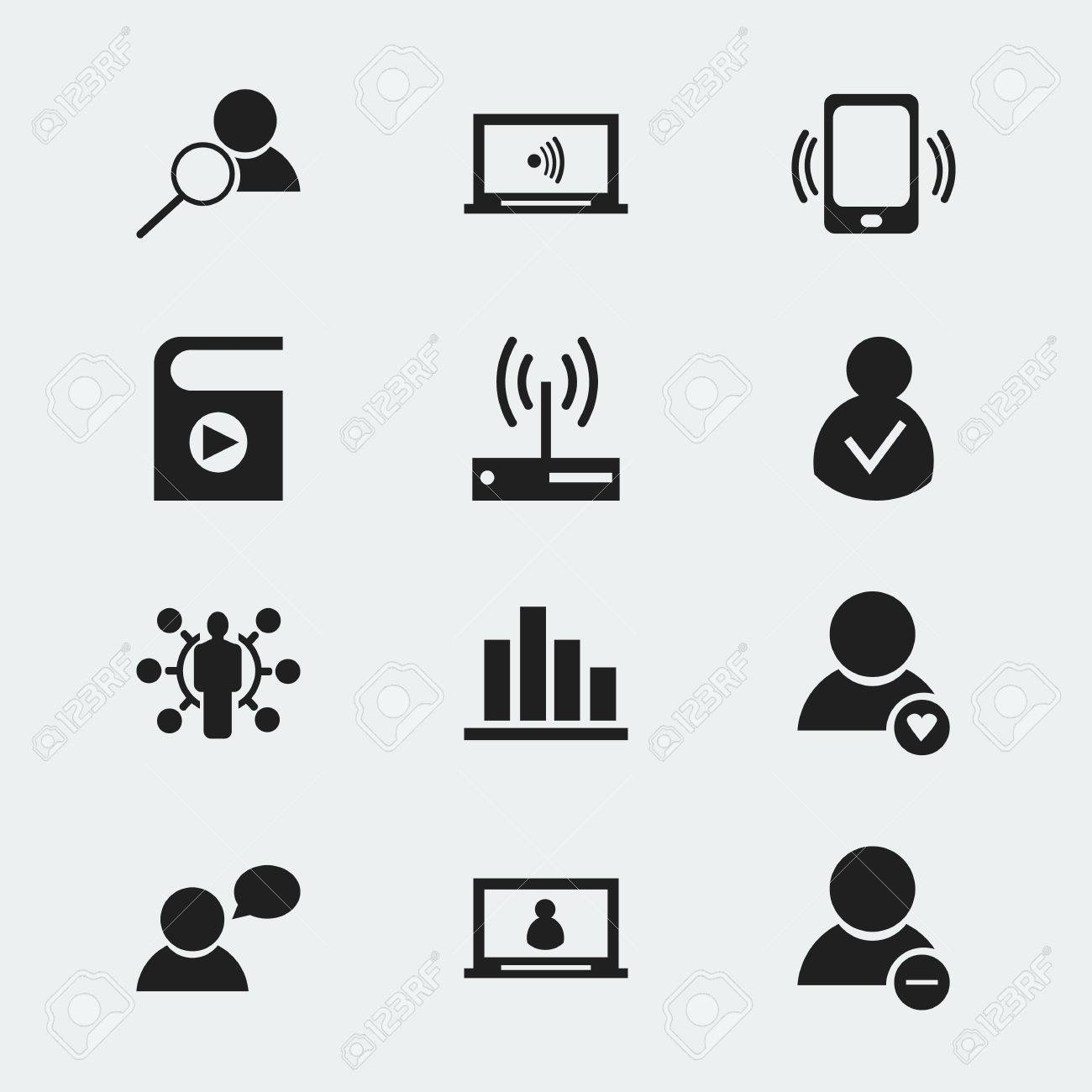 Set of 12 editable internet icons includes symbols such as lovely set of 12 editable internet icons includes symbols such as lovely profile account biocorpaavc