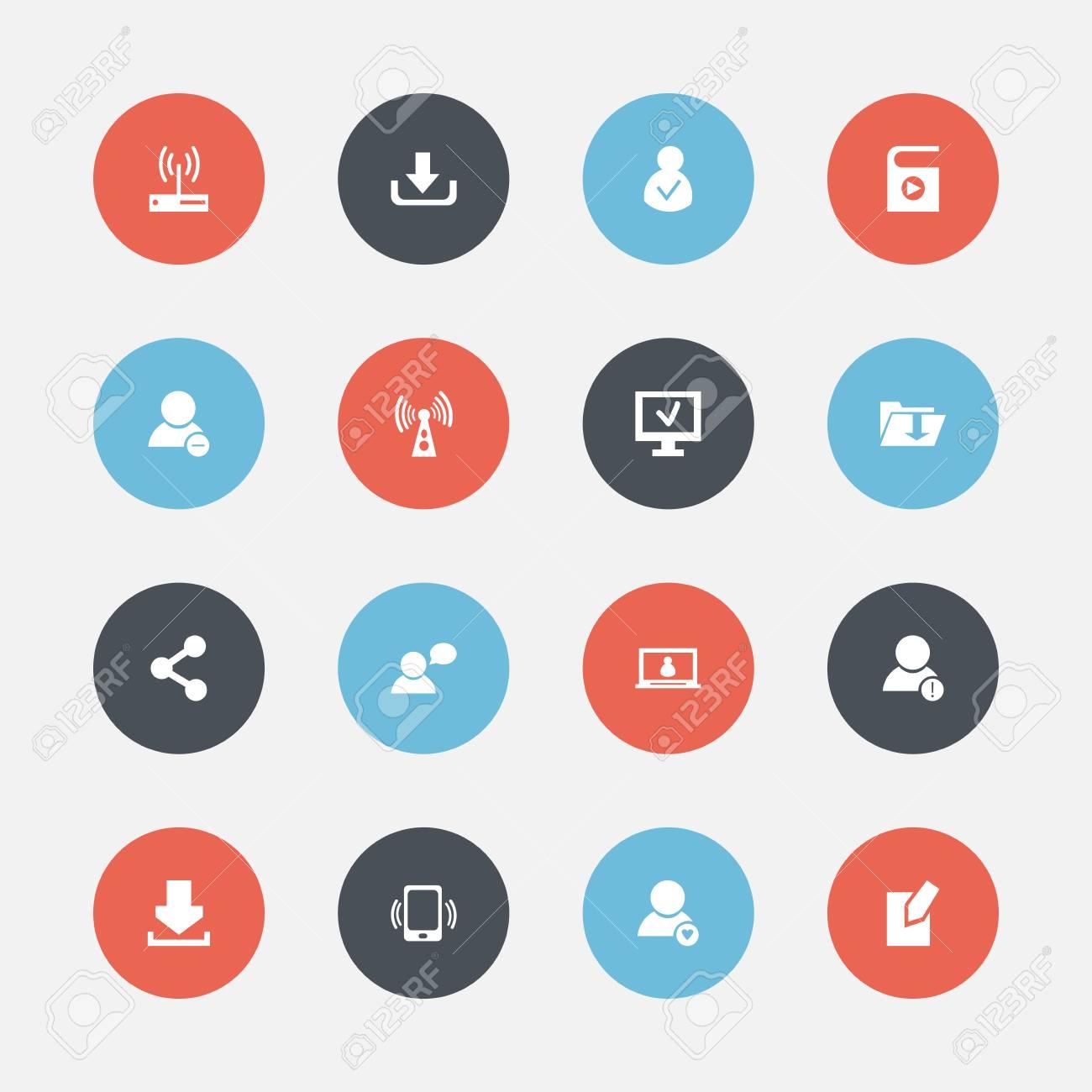 Set of 16 editable internet icons includes symbols such as delete set of 16 editable internet icons includes symbols such as delete member access allowed biocorpaavc