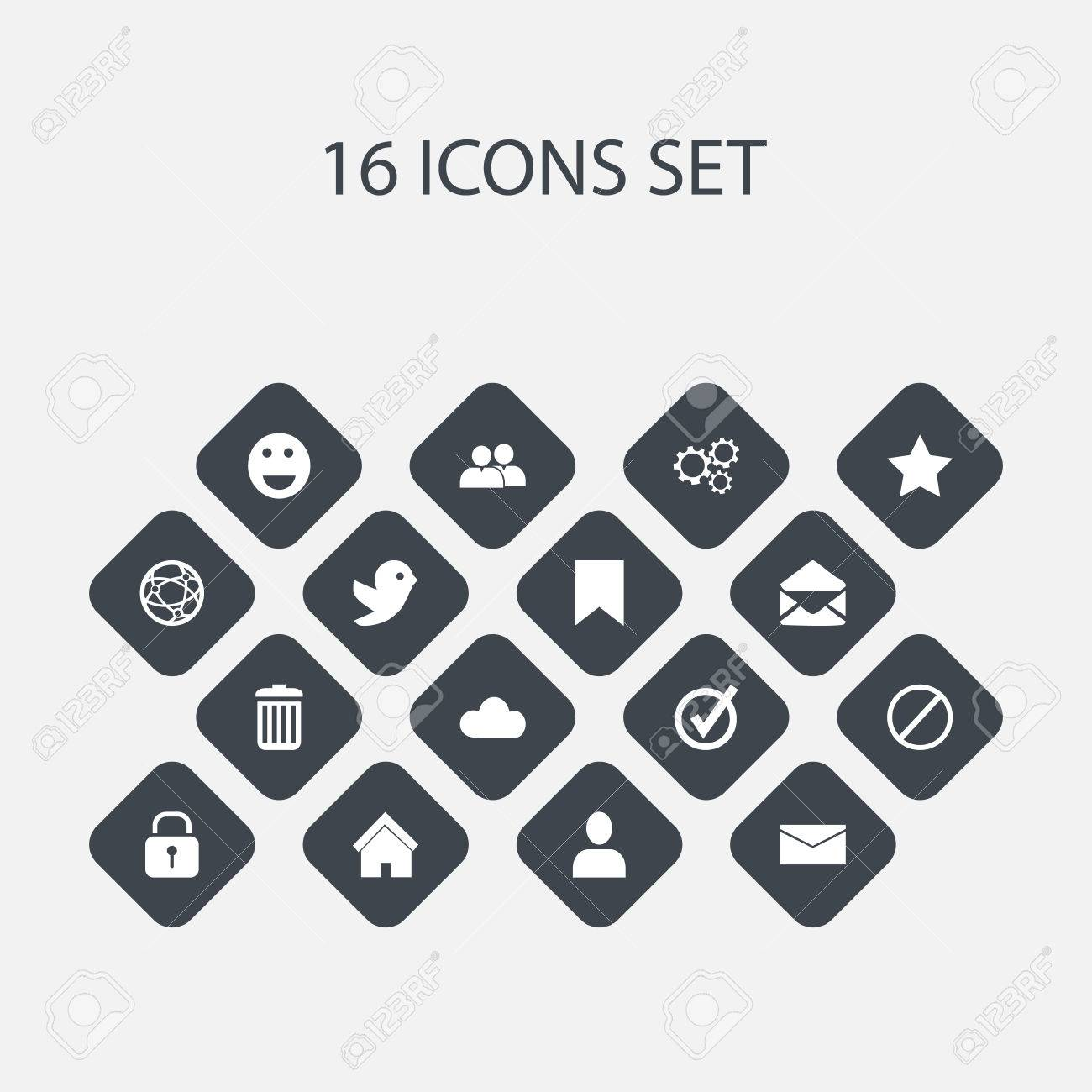 Set of 16 editable internet icons includes symbols such as group set of 16 editable internet icons includes symbols such as group gear recycle biocorpaavc