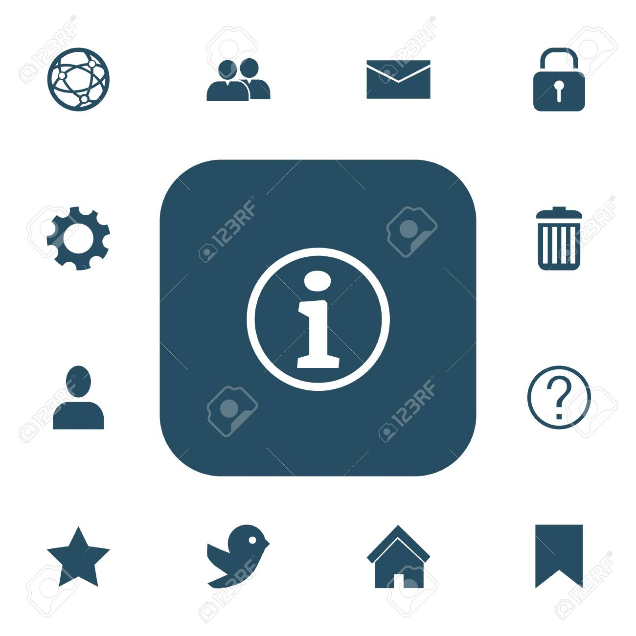 Set of 13 editable internet icons includes symbols such as set of 13 editable internet icons includes symbols such as security network faq biocorpaavc