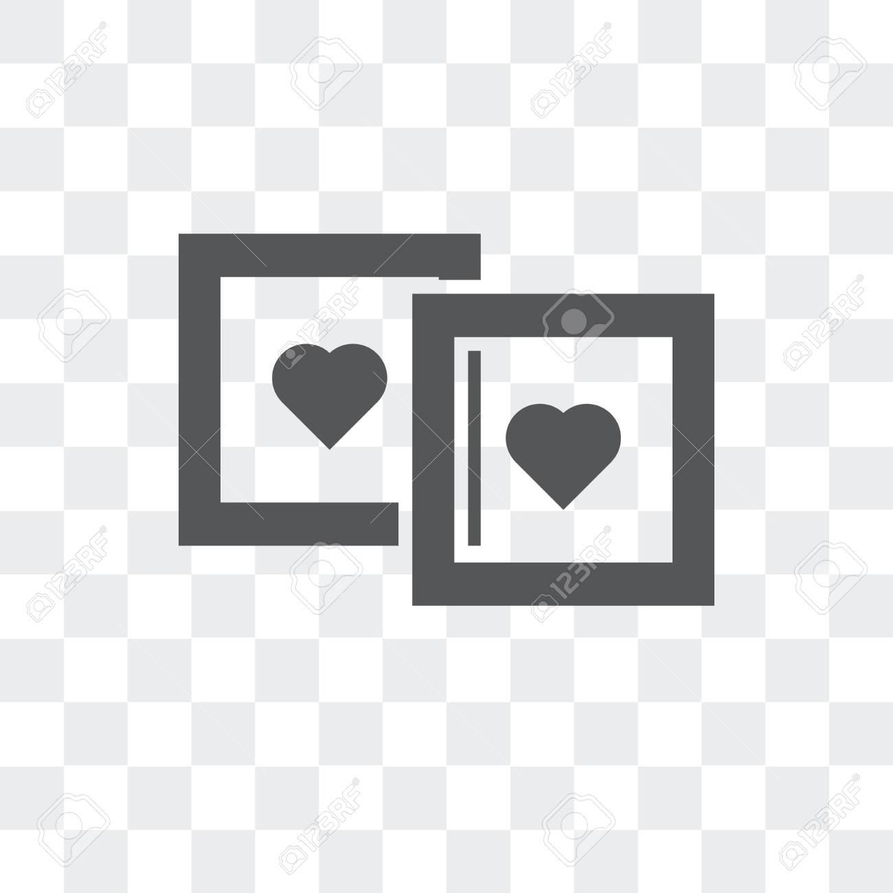 vector icon isolated on transparent background polaroid logo