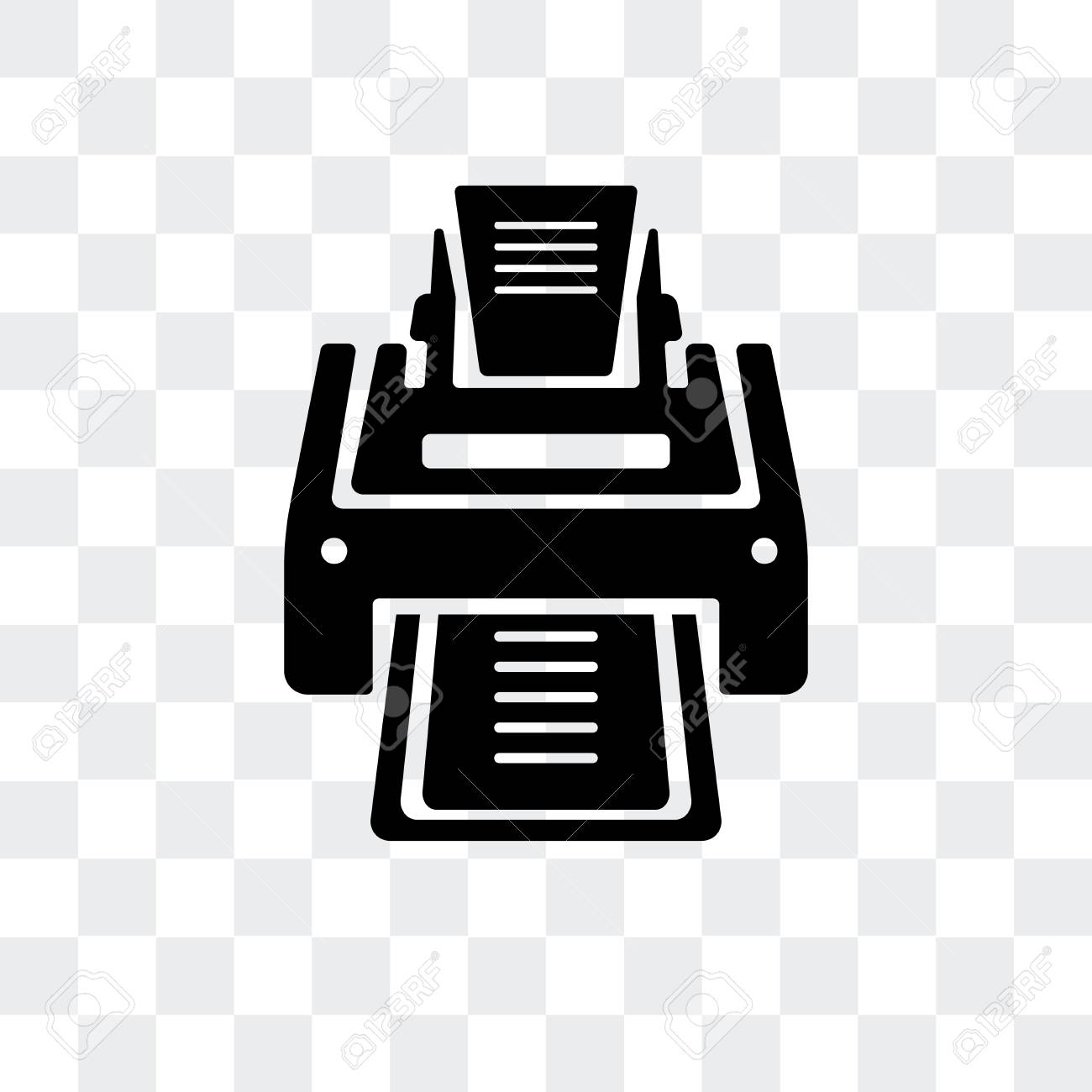 printer vector icon isolated on transparent background printer royalty free cliparts vectors and stock illustration image 107208982 printer vector icon isolated on transparent background printer