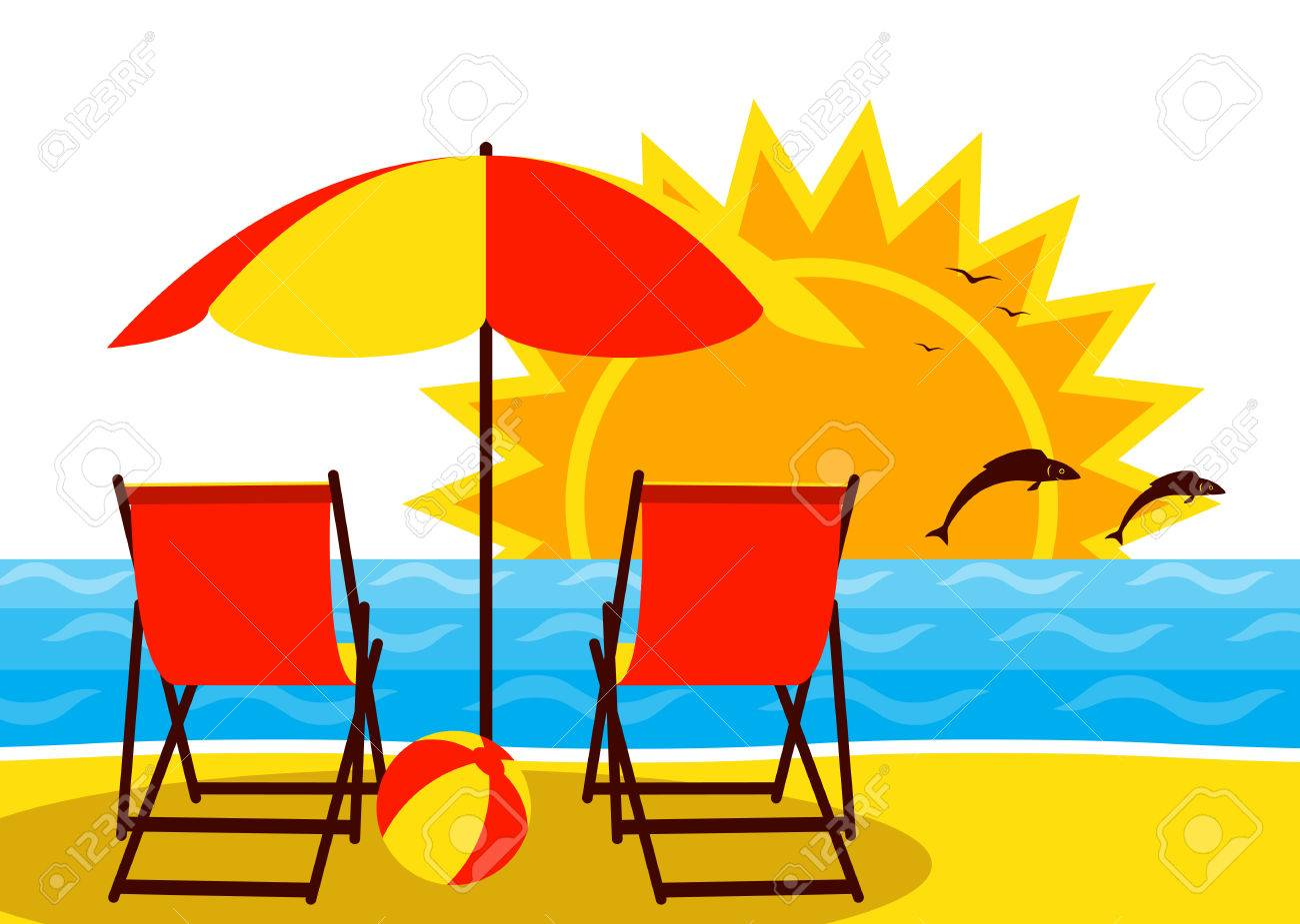Cartoon-Clip-art-Strand - Paar Strand Cliparts png herunterladen - 1024*768  - Kostenlos transparent Sommer png Herunterladen.