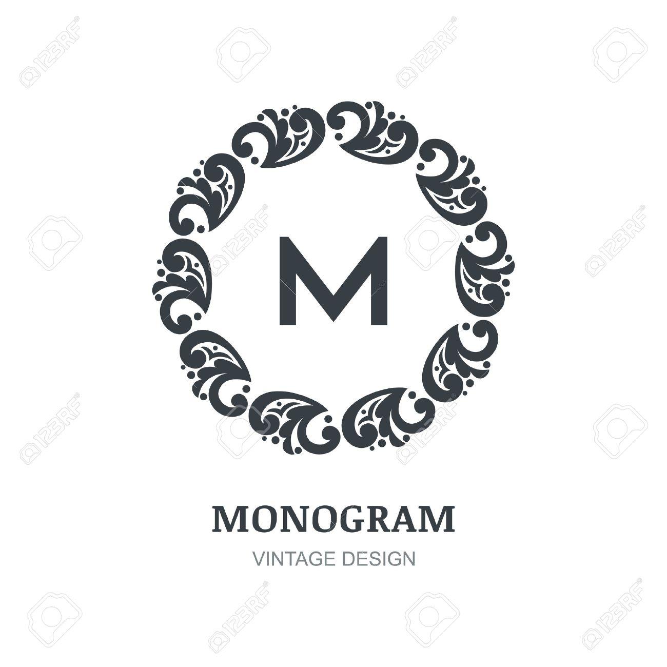 Free monogram logo design for wallpaper