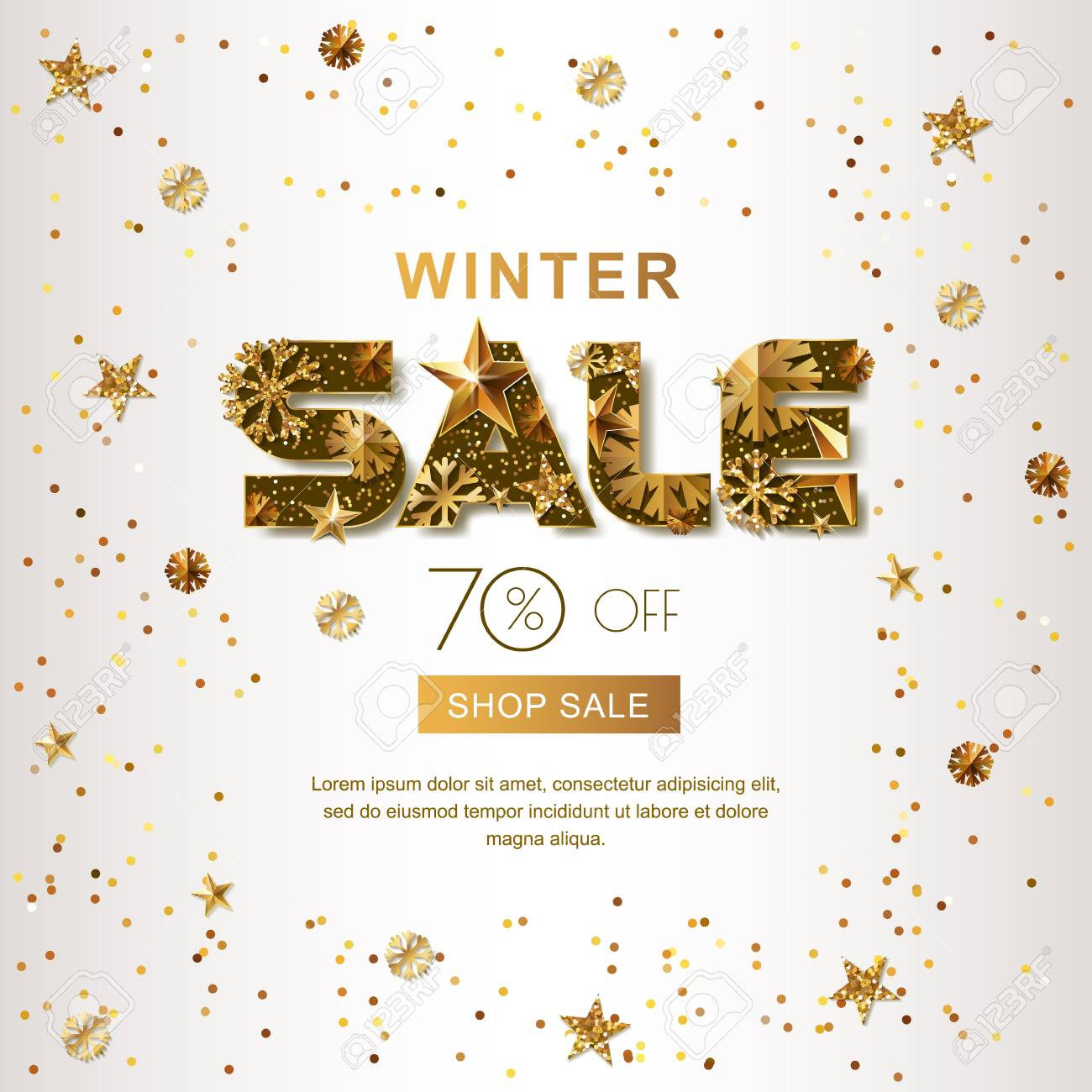Winter Sale Banners Executive Banners