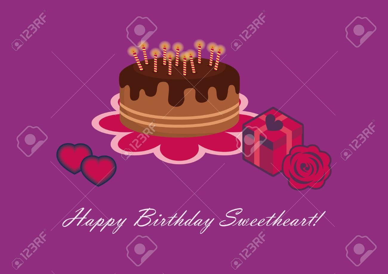 Birthday Card For Sweetheart Happy Birthday Sweetheart Birthday
