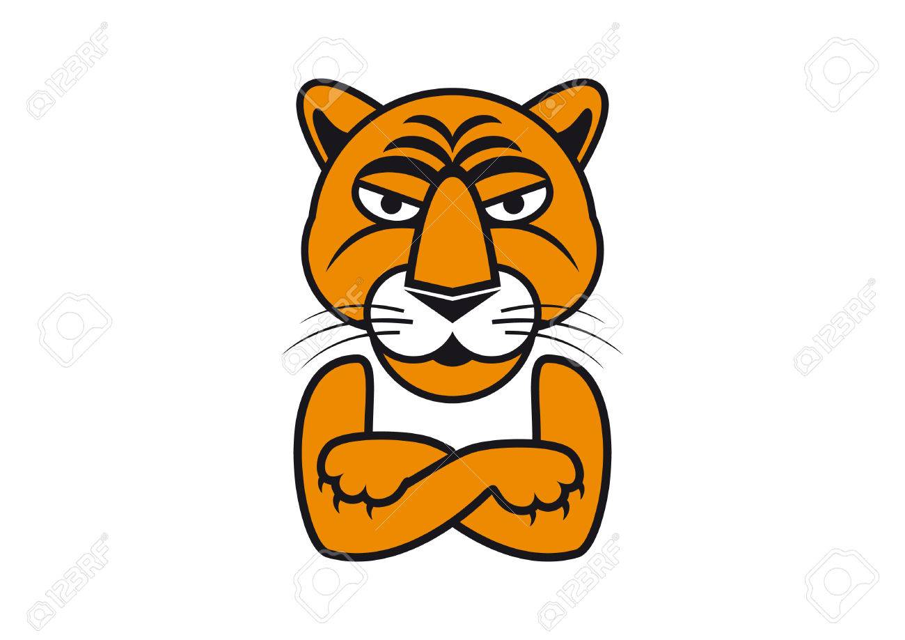 tiger vector illustration tiger cartoon images tiger with arms rh 123rf com tiger vector free download tiger vector free