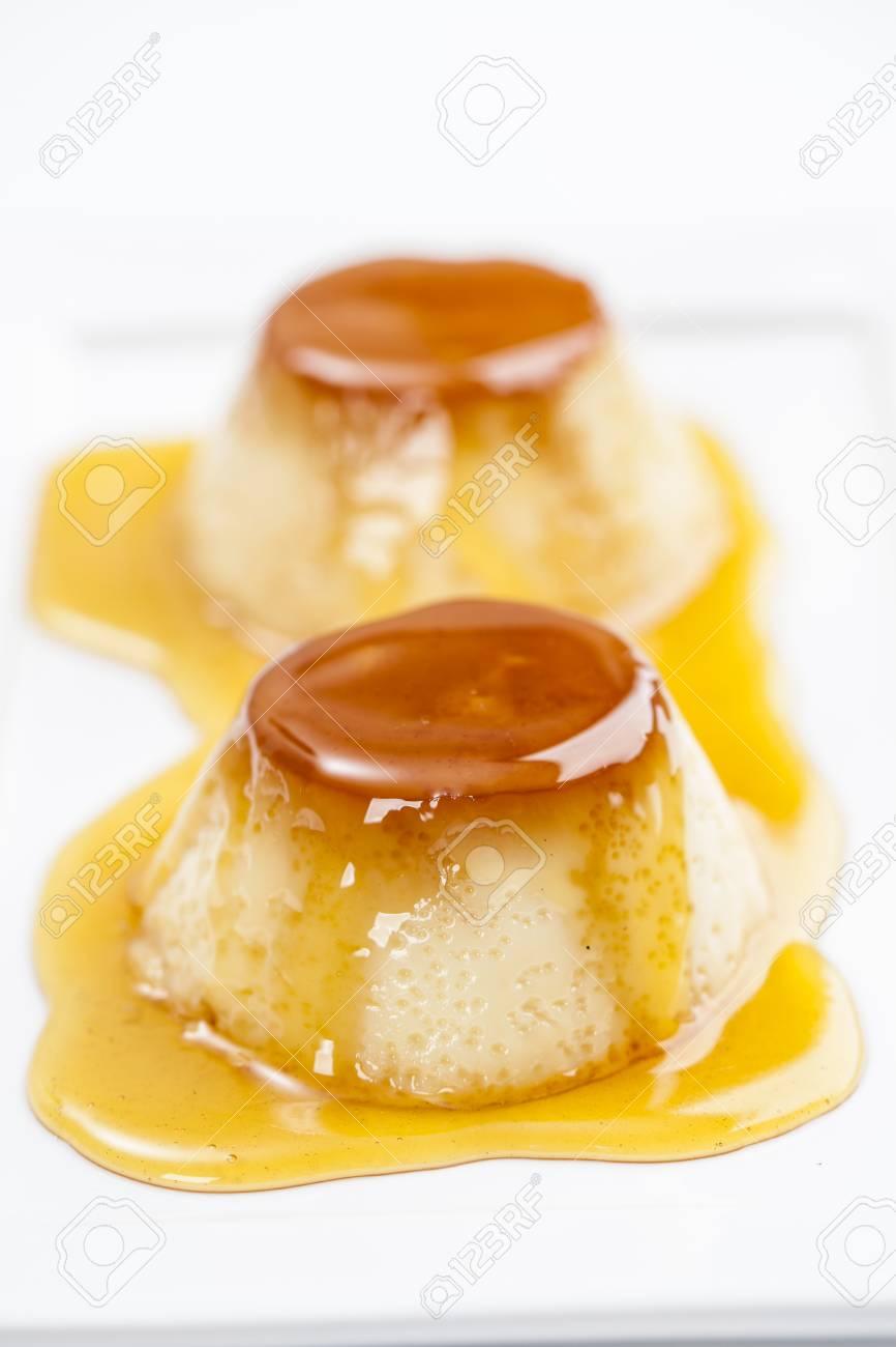 Pudim, a delicious brazilian dessert, made from condensed milk. - 24390920