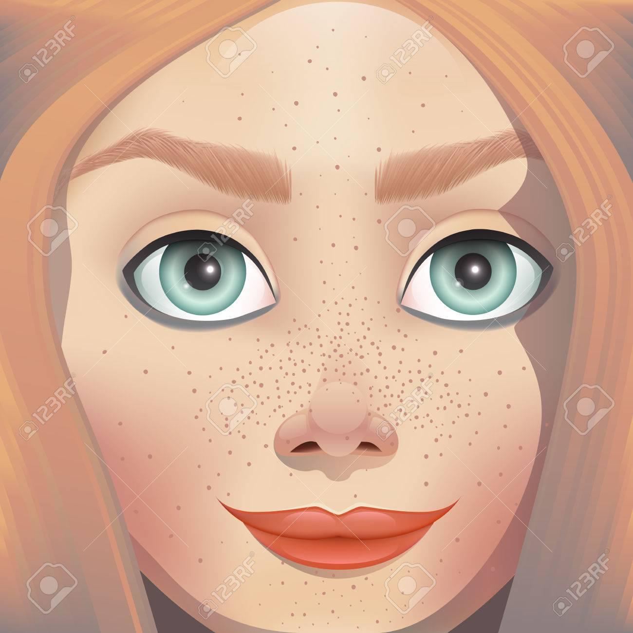 Gesichts-Chat mit Mädchen