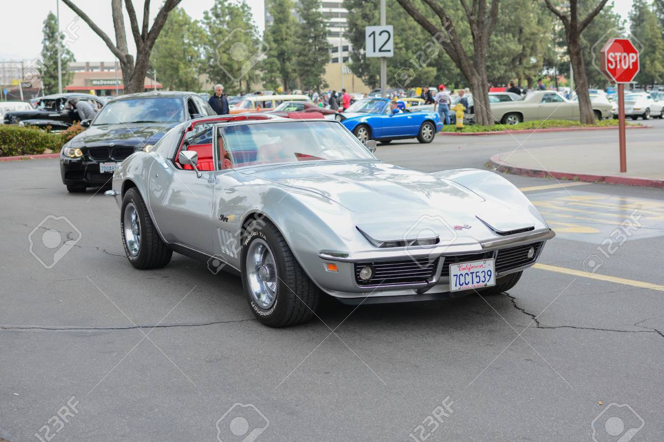 Chevrolet Corvette Stingray >> Woodland Hills Ca Abril 5 2015 Chevrolet Corvette Stingray