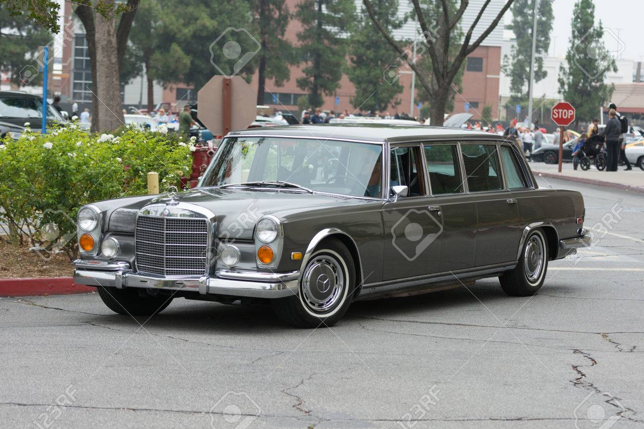 Woodland Hills Ca Usa July 5 2015 Mercedes Benz 600 Swb
