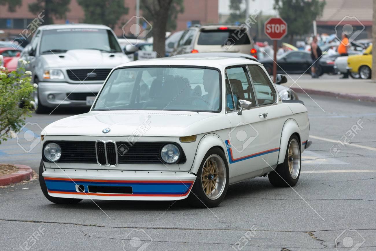 BMW turbo bmw 2002 : Woodland Hills, CA, USA - July 5, 2015: BMW 2002 Turbo Car On ...