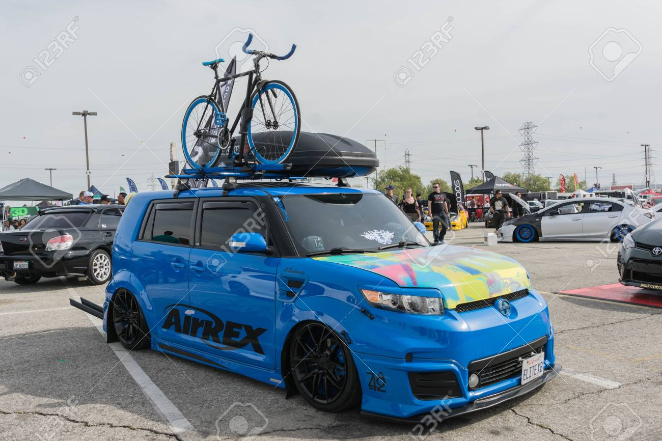Irwindale Usa March 4 2017 Scion Xb Modified On Display Stock