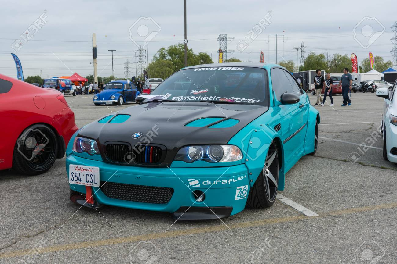Irwindale Usa March 4 2017 Bmw Modified On Display During