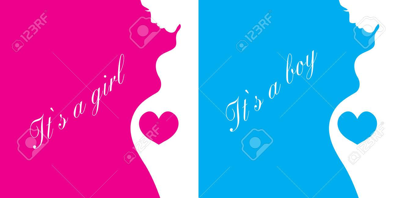 card it s a girl it s a boy background template congratulations