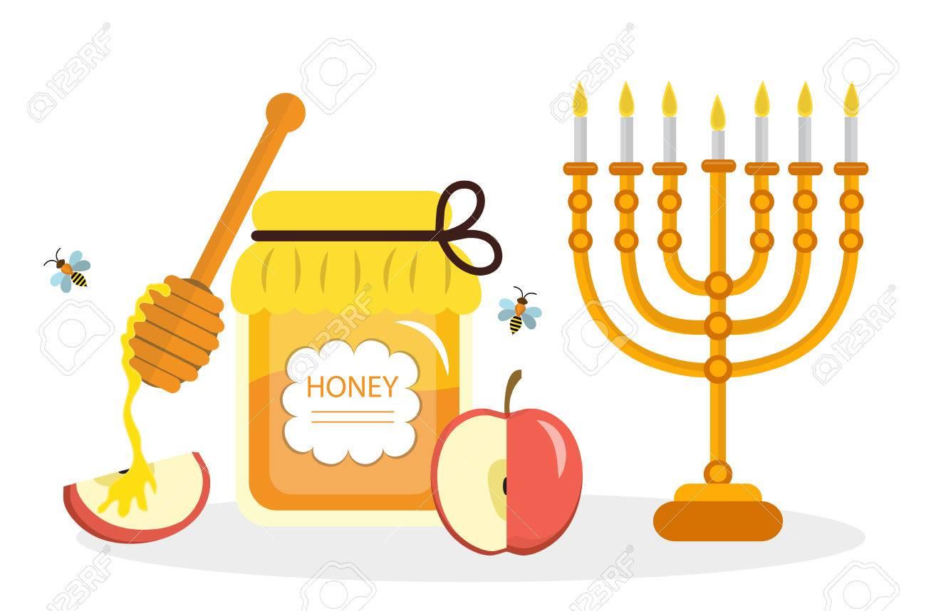 Greeting Card For The Jewish New Year Rosh Hashanah Shana Tova