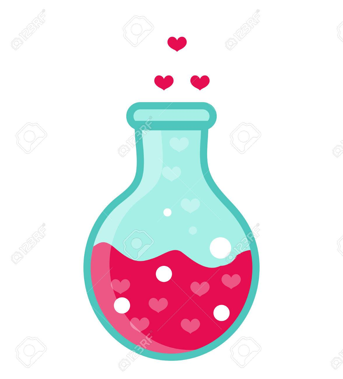 love potion icon flat design isolated on white background rh 123rf com clip art with no white background how to insert clipart without white background