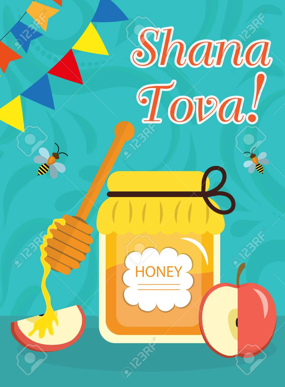 Rosh hashanah poster flyer invitation greeting card shana rosh hashanah poster flyer invitation greeting card shana tova is a template kristyandbryce Choice Image