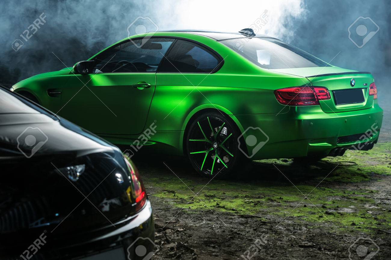 Kiev Ukraine 14 May 2014 Bmw M3 Coupe Tuning Sport Car It Stock Photo Picture And Royalty Free Image Image 65919619