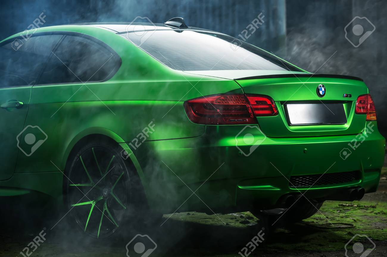 Kiev Ukraine 14 May 2014 Bmw M3 Coupe Tuning Sport Car It Stock Photo Picture And Royalty Free Image Image 65919620
