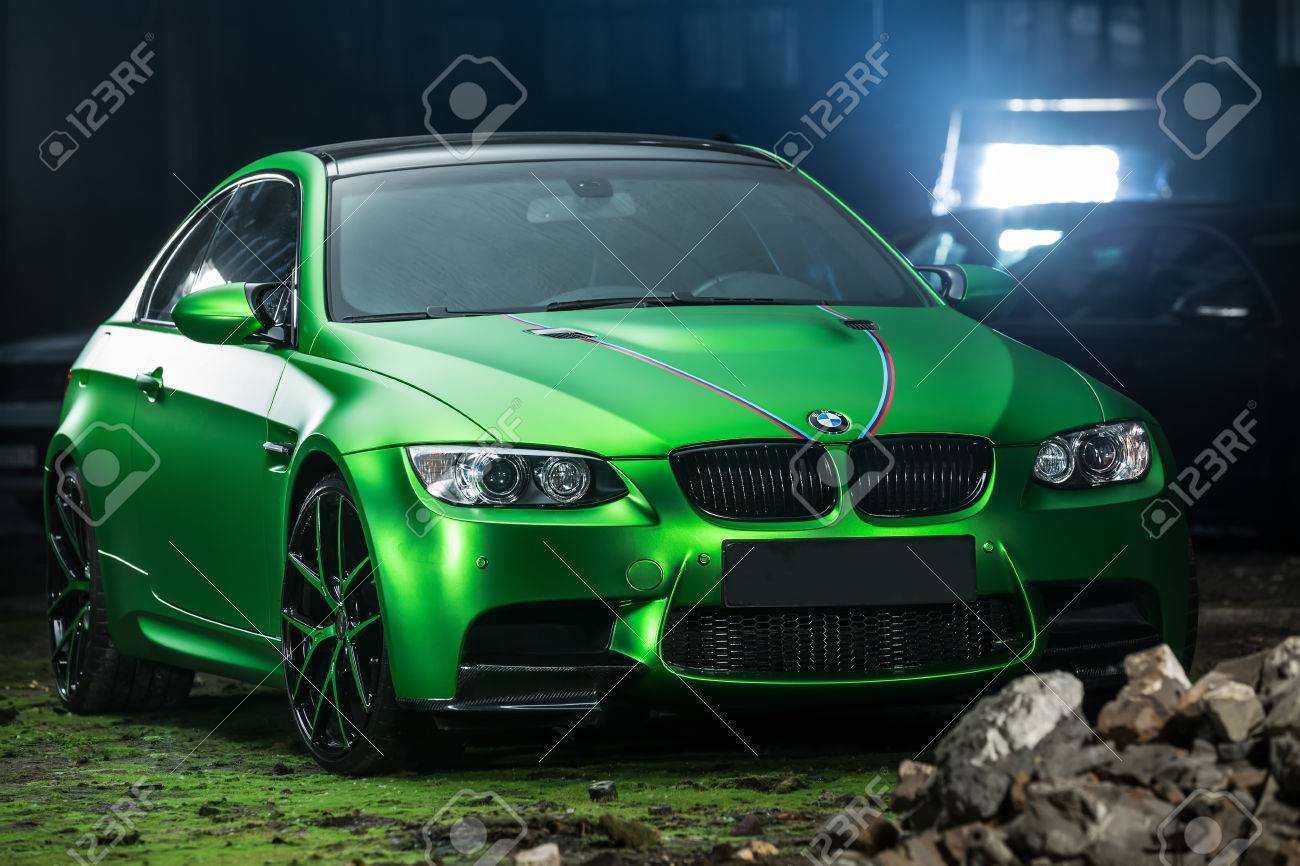 Kiev Ukraine 14 May 2014 Bmw M3 Coupe Tuning Sport Car It Stock Photo Picture And Royalty Free Image Image 65919621