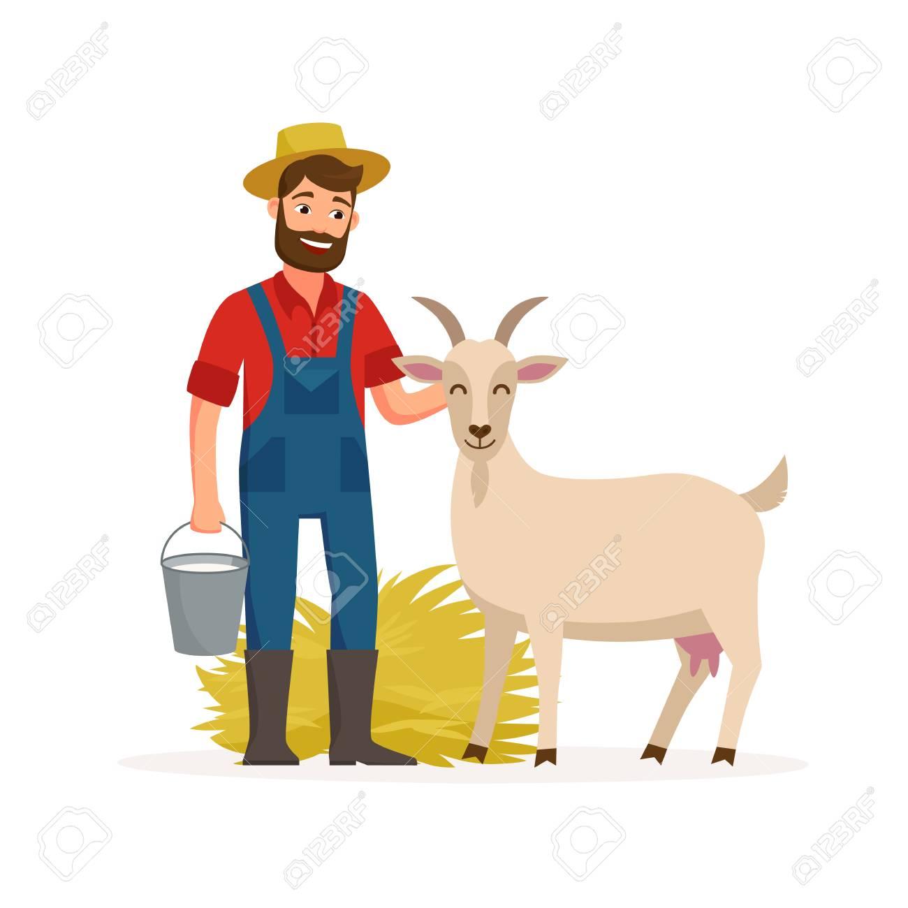 Farmer With Harvested Vegetables Cartoon Vector Clipart - FriendlyStock    Cartoons vector, Vegetable cartoon, Cartoon
