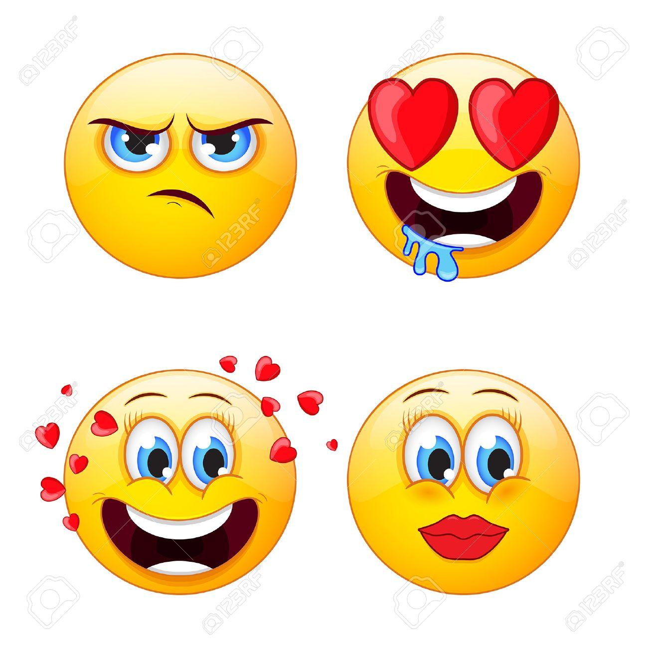 2,886 Emoji Vector Cliparts, Stock Vector And Royalty Free Emoji ...
