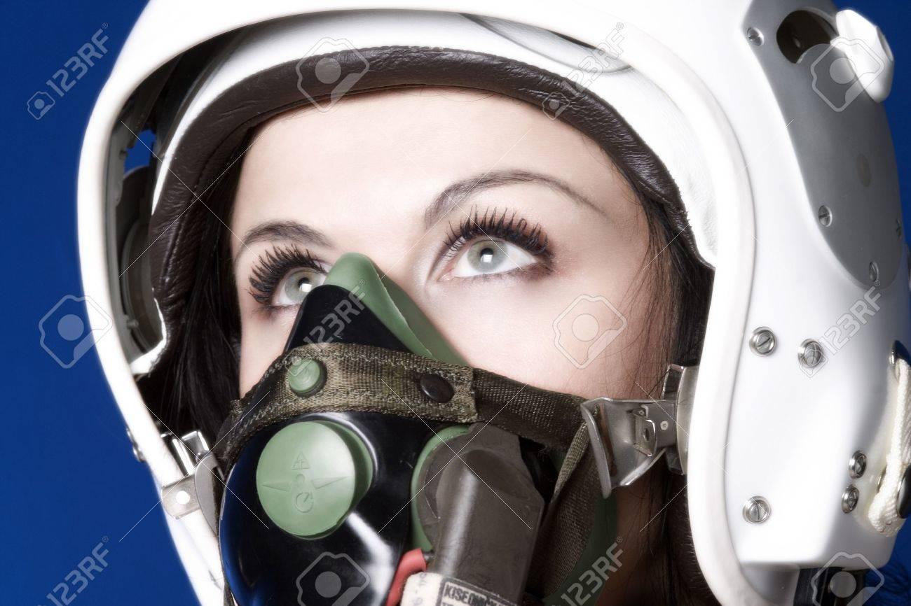 supersonic pilot Stock Photo - 392565