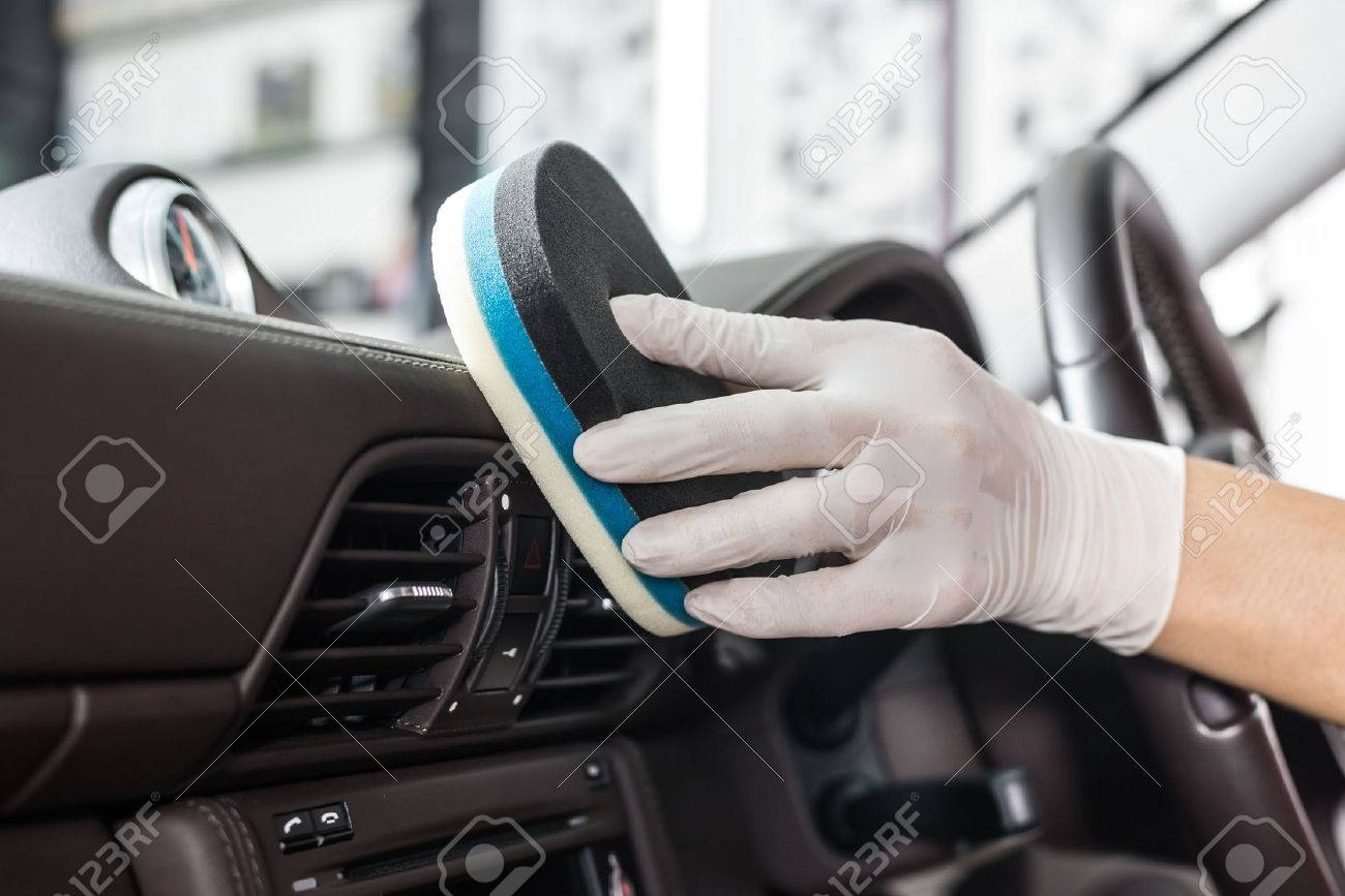 Awesome Car Detailing Series : Cleaning Car Interior Stock Photo   55878477 Photo