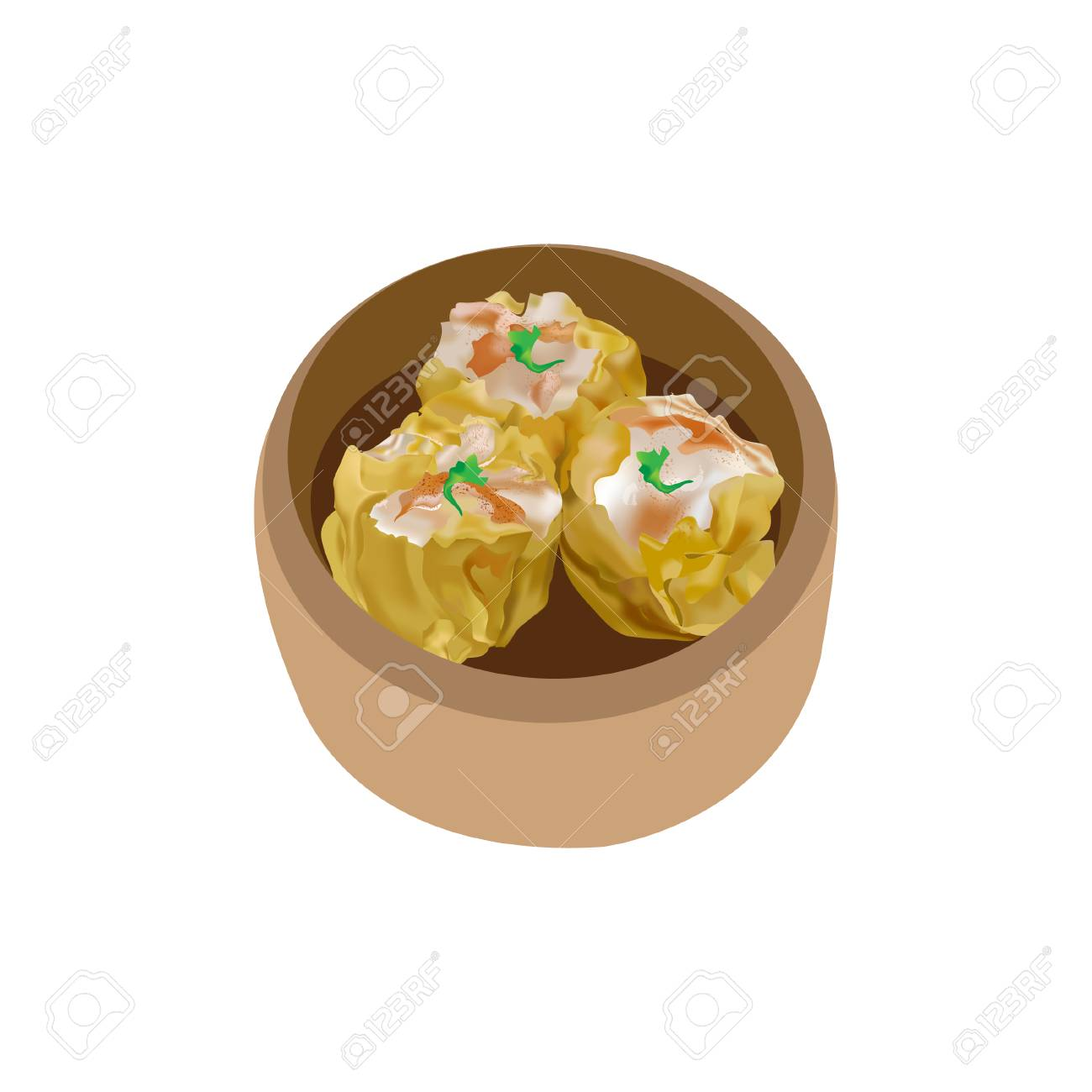 pork shumai dumplings dim sum royalty free cliparts vectors and stock illustration image 109627873 pork shumai dumplings dim sum