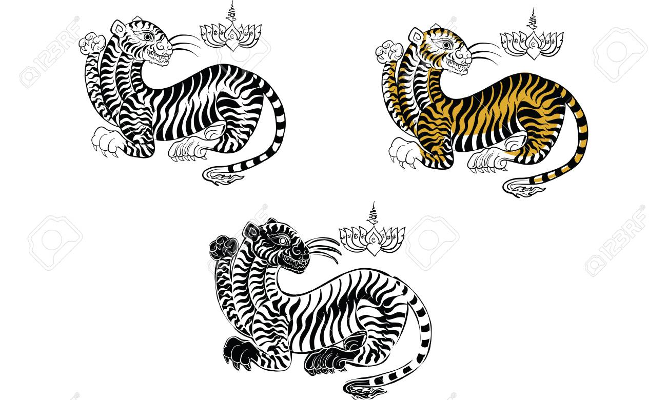 Thai Traditional Tattootiger
