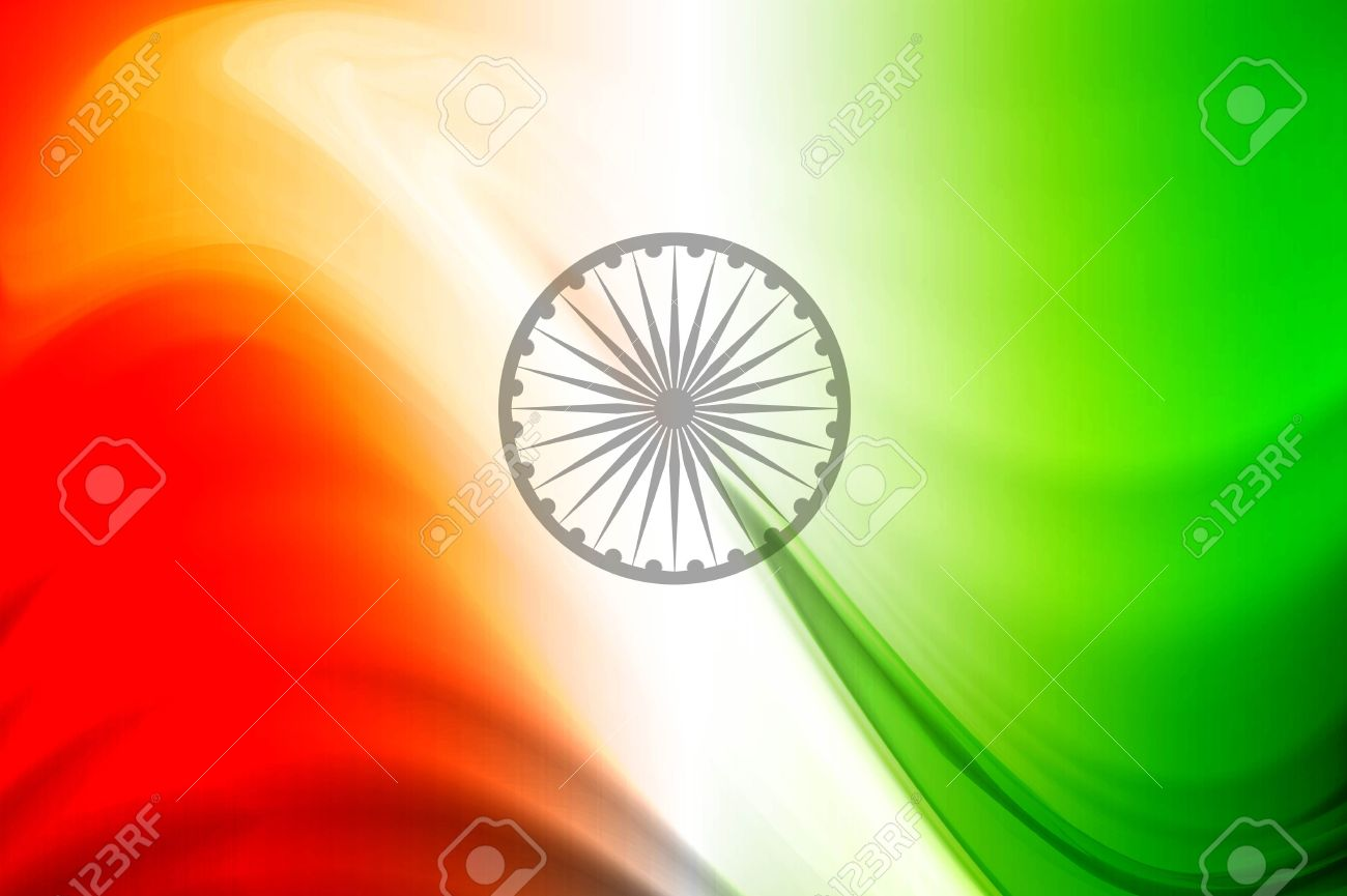 Indian flag tricolor Illustration background vector Stock Vector - 17466967