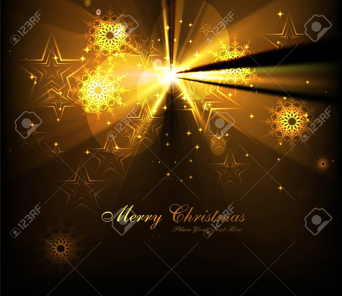 merry christmas tree celebration bright colorful card Stock Vector - 18088927