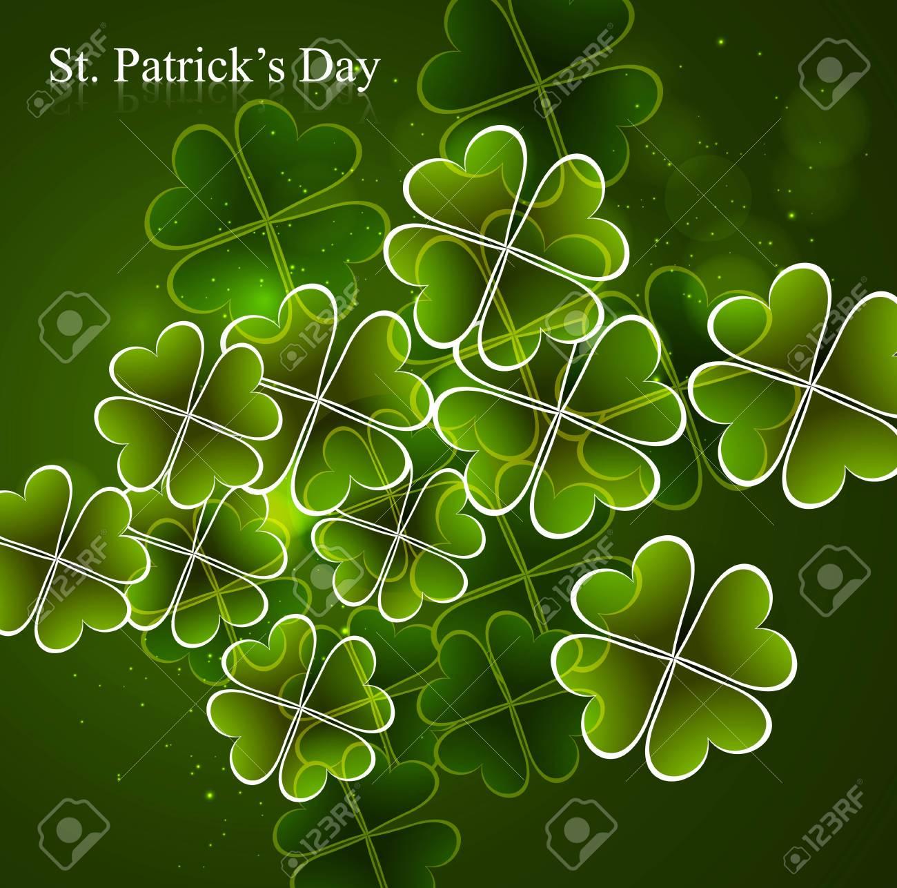 Happy St  Patrick Stock Vector - 18210684