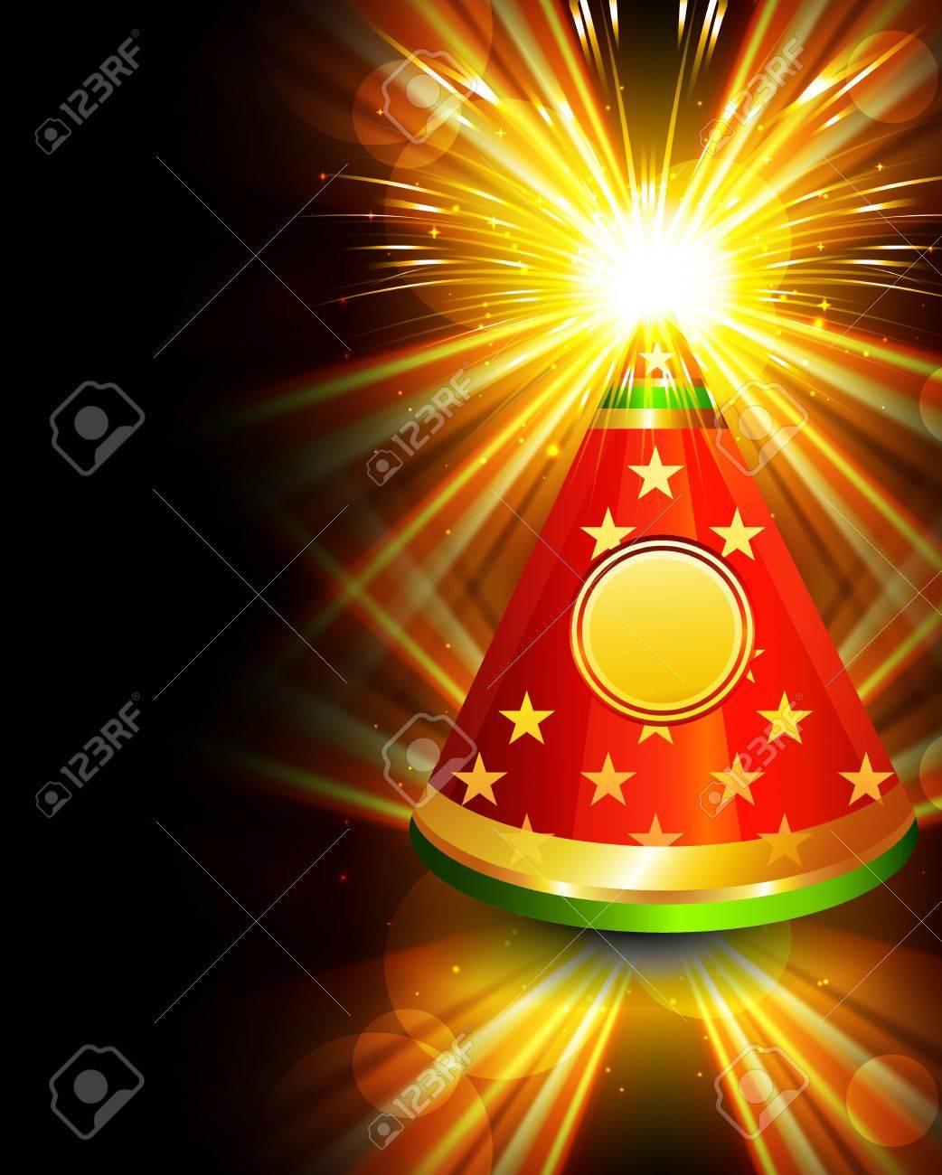 diwali crackers bright beautiful vector design Stock Vector - 18404025