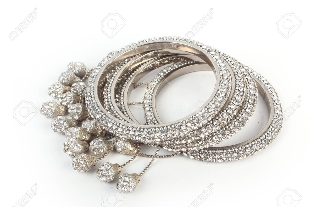 Indian Bangles  Bracelet with diamonds