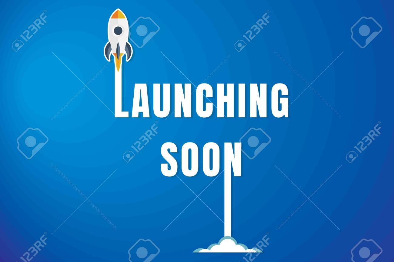 Creative Launching Soon Poster Design Royalty Free Cliparts Vectors And Stock Illustration Image 128471642