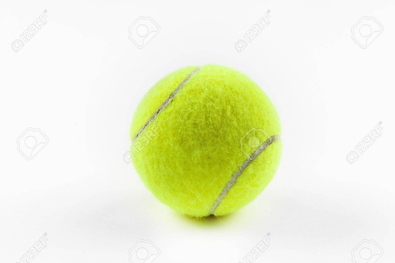A yellow tennis ball Stock Photo - 9730147