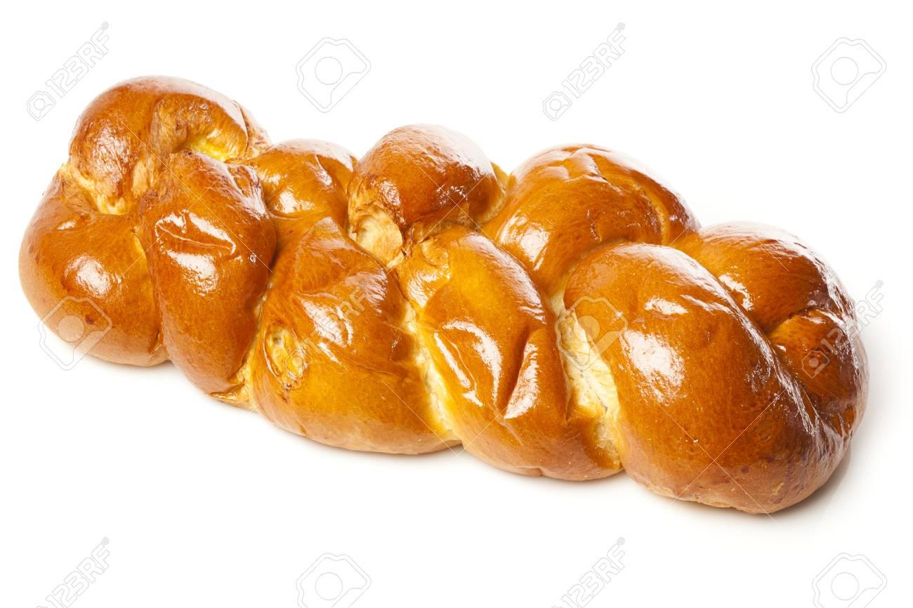 Fresh Homemade Challah Bread for a Jewish Celebration Stock Photo - 17170389