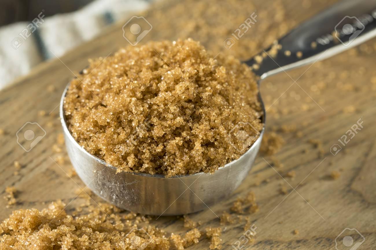 Raw Organic Light Brown Sugar In A Pile Stock Photo   96330027