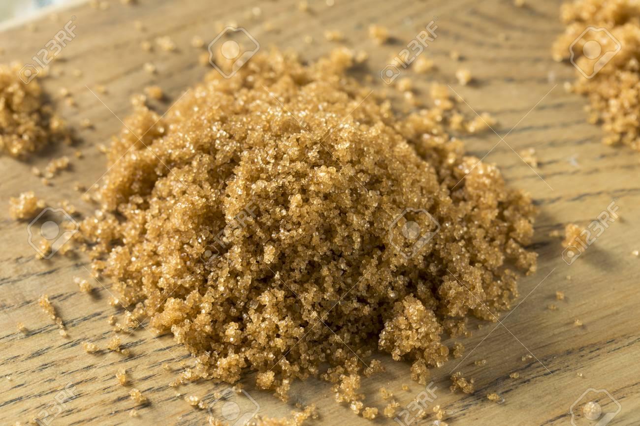 Raw Organic Light Brown Sugar In A Pile Stock Photo   96330071