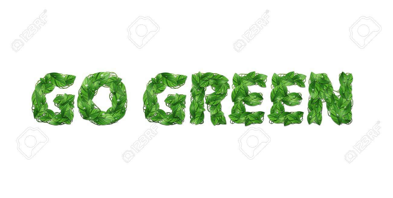 Go Green Stock Photo - 12381155