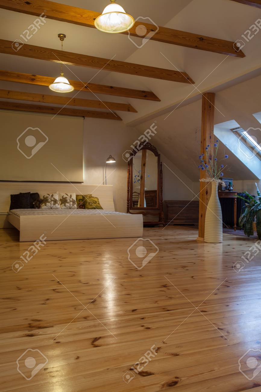 Cloudy Home Spacious Huge Bedroom With Original Mirror Stock Photo Picture And Royalty Free Image Image 17317932