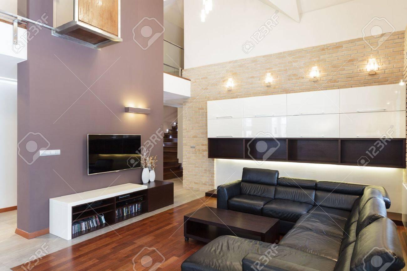 Grand design - Living room in modern style Stock Photo - 19376569