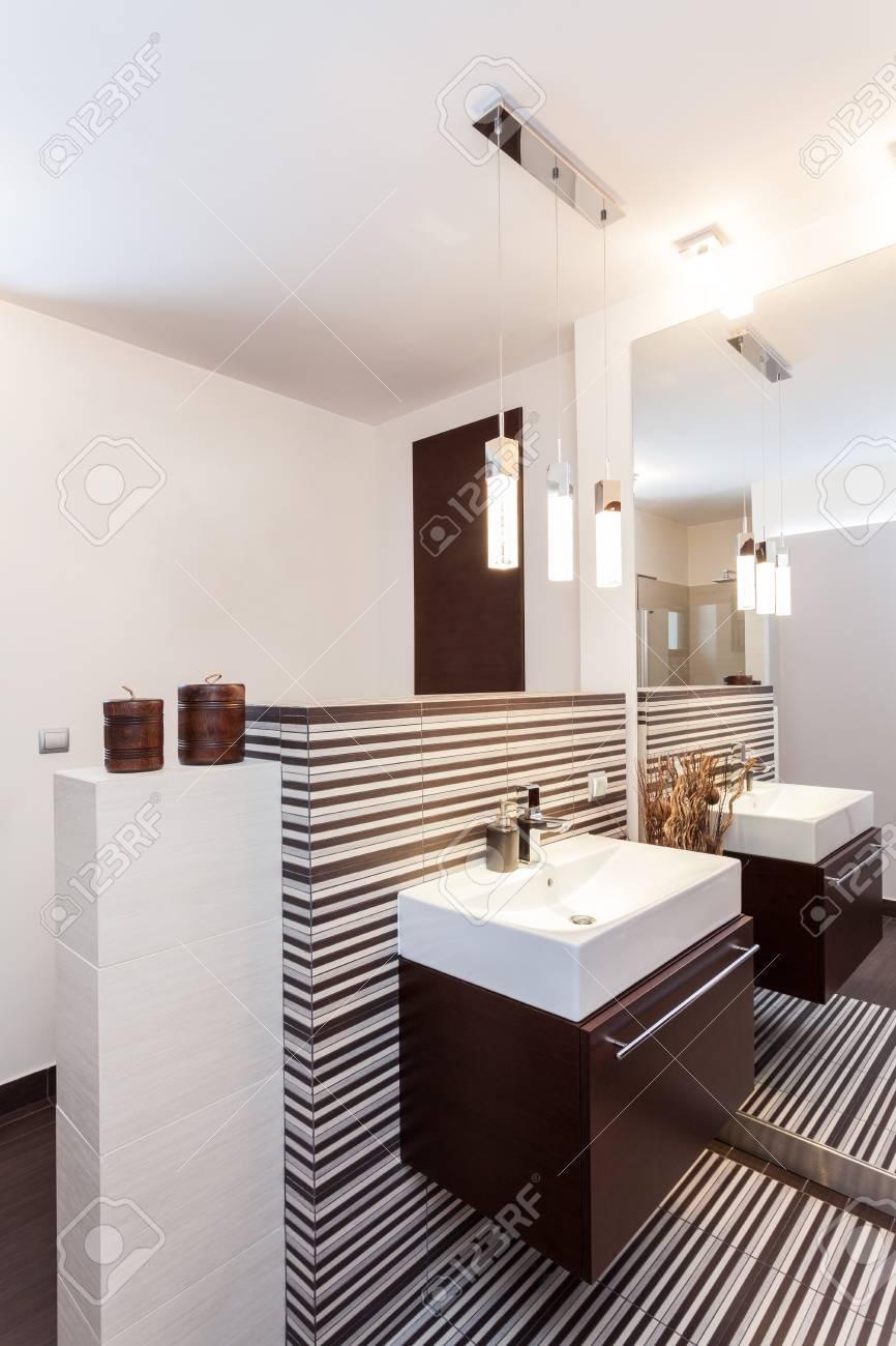 Gran diseño - cuarto de baño interior decorativa