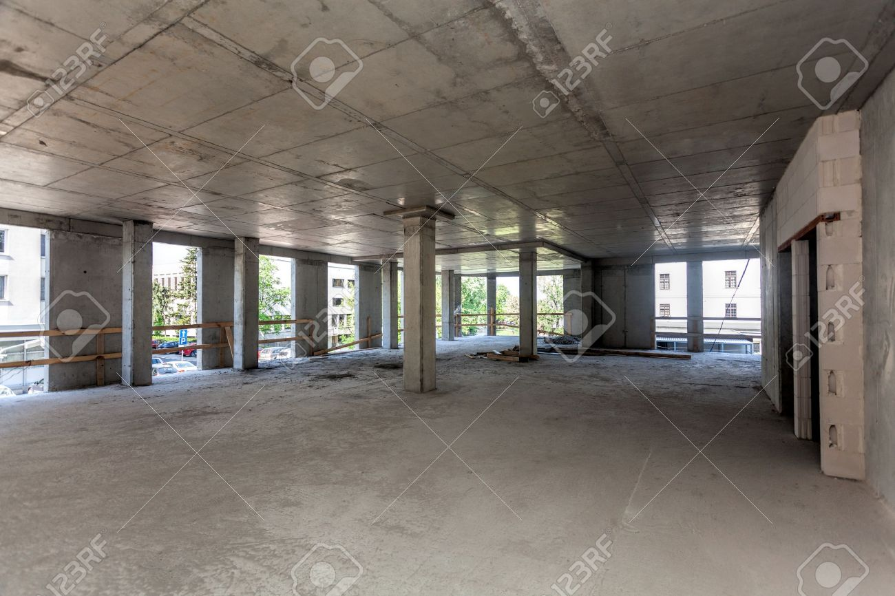 Marco De La Construcción De Concreto, Interior Fotos, Retratos ...
