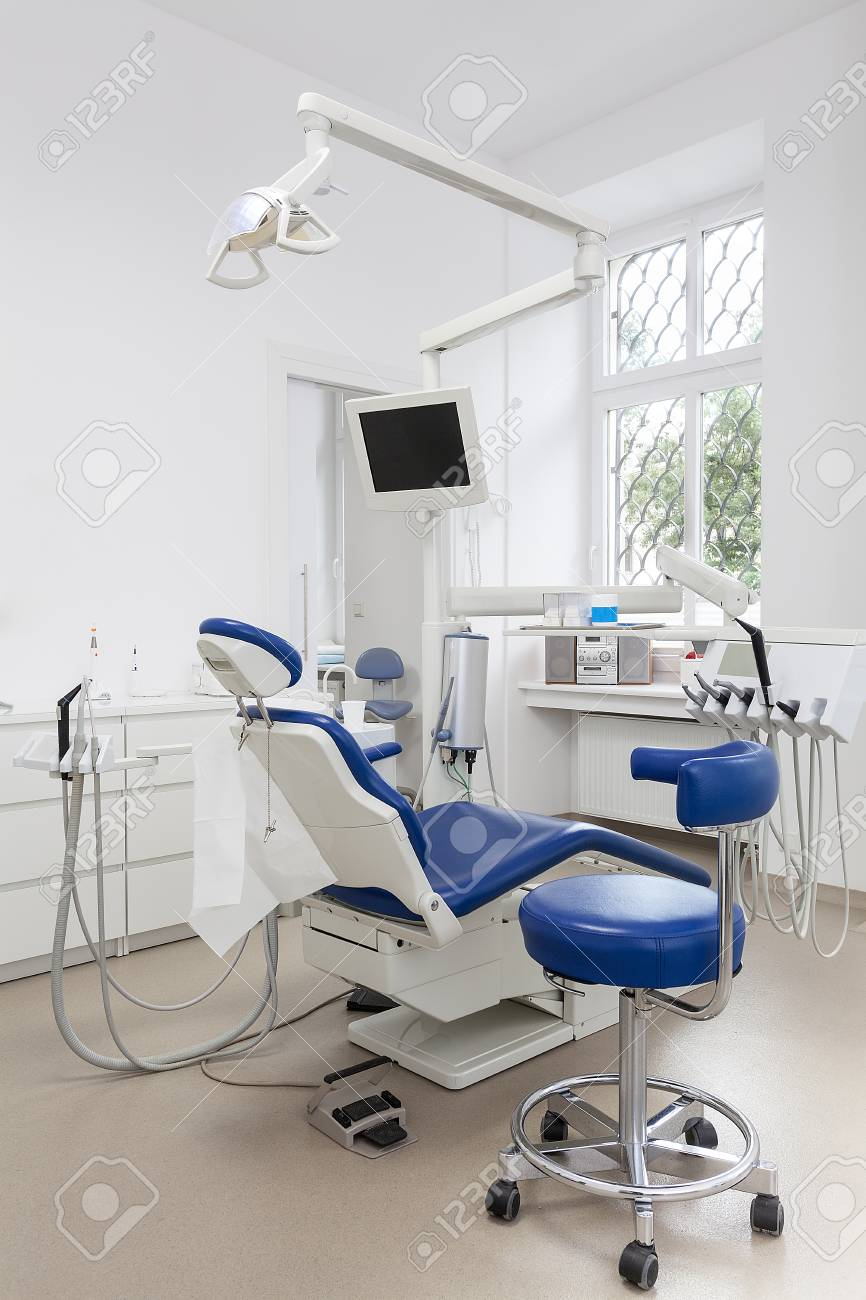 Vertical view of an equipment in a dental ofiice Stock Photo - 22306492