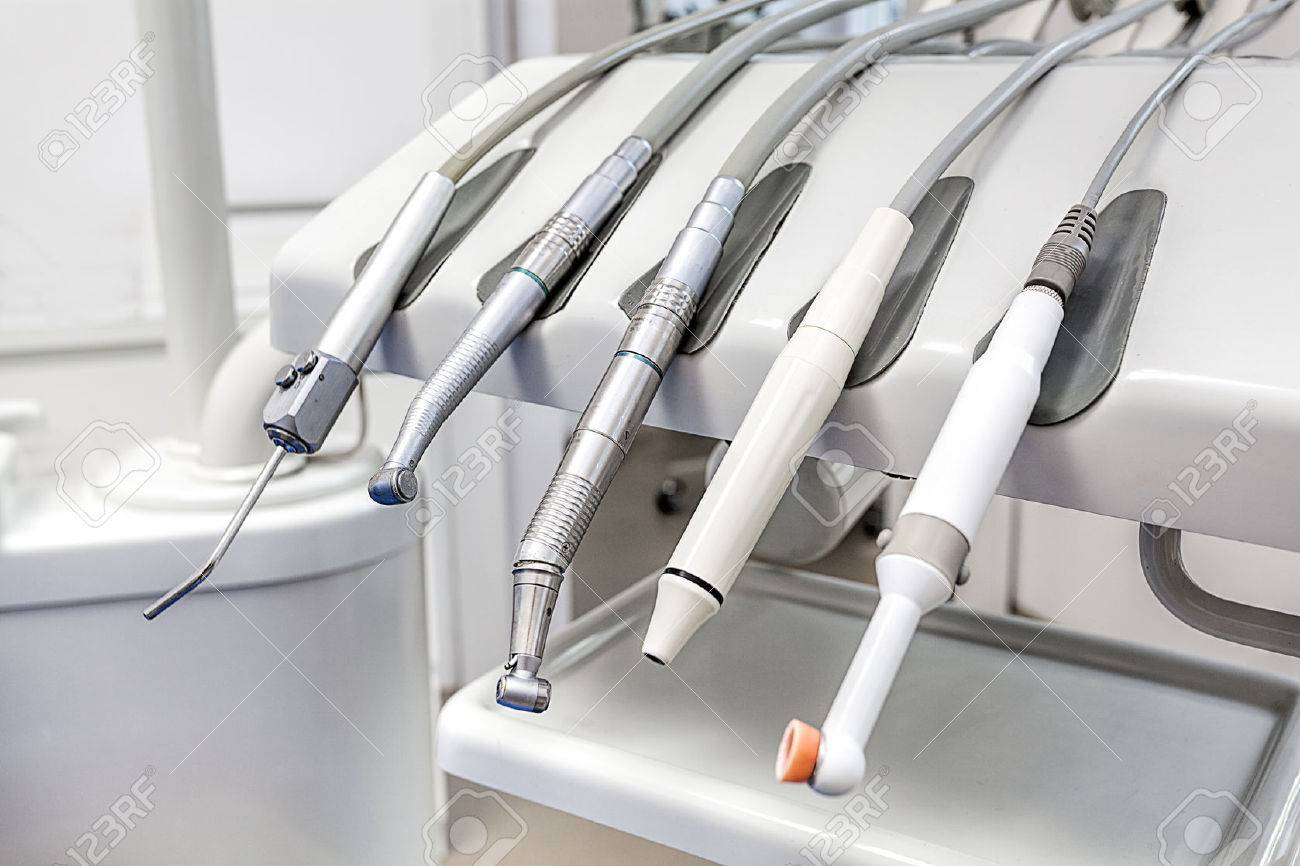 Closeup of a modern dentist tools, burnishers Stock Photo - 22301974